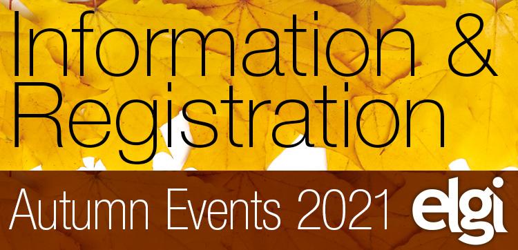 Autumn Events 2021 Info