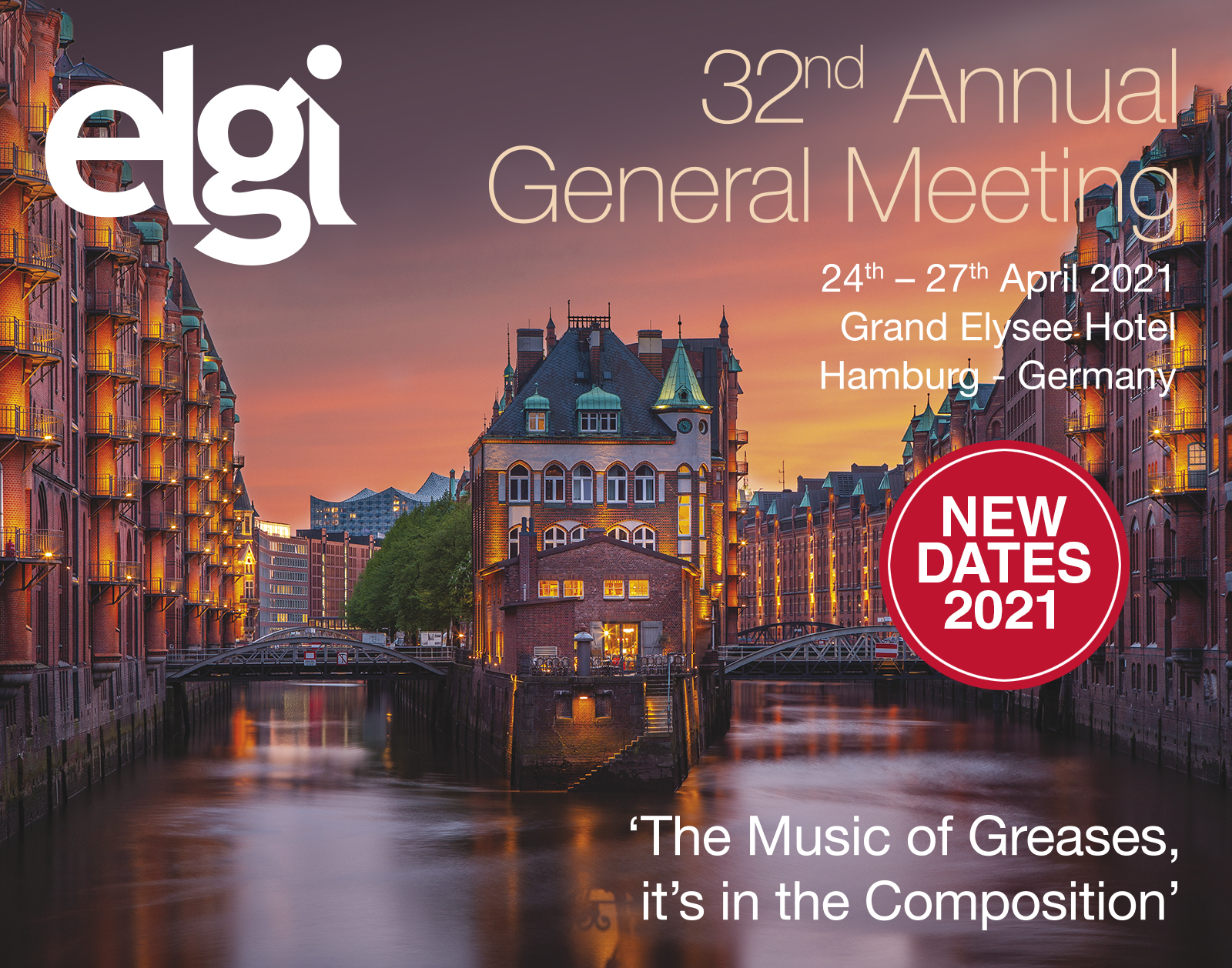 32nd ELGI Annual General Meeting Programme 25th -28 th April 2020. dans - - - AGENDA : img_hamburg1